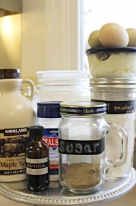 Homemade Vanilla Pudding Ingredients