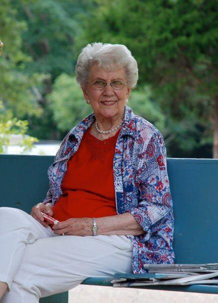 My beautiful Mamaw Jane on her front porch in south Mississippi.